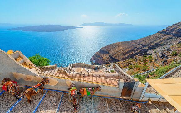 Rendez-vous... sur l'île de Santorin