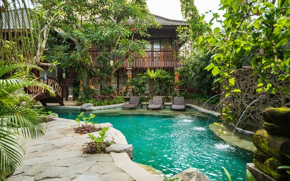 Poussez les portes de l'hôtel Adiwana Monkey Forest 4* à Ubud