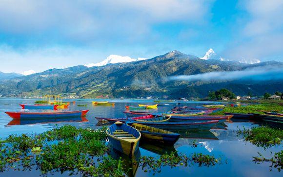 Nepal Kathmandu - Circuit privatif L'essentiel du Népal en hôtels 3* ou 4* et extension trek pos...