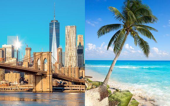 Combiné Aliz Hotel Times Square 4* et Barcelo Maya Beach 5*