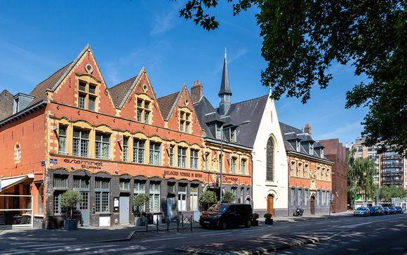 Poussez les portes de l'hôtel L'Hermitage Gantois 5*