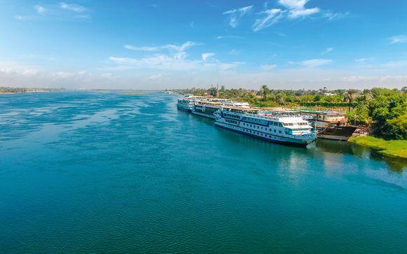 Votre croisière sur le Nil 5* possible en un clin d'oeil