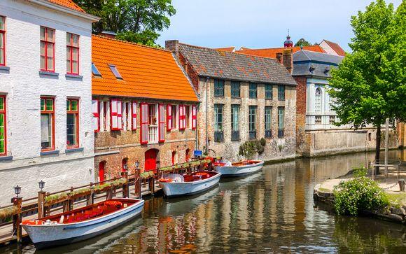 Hôtel Prinsenhof de Bruges et extension possible à Gand - Bruges - Jusqu'     à -70%   Voyage Privé