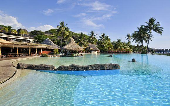 Poussez les portes de l'hôtel  Intercontinental Tahiti 4*