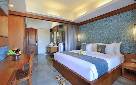 Poussez les portes de l'hôtel The Alantara Sanur 4*