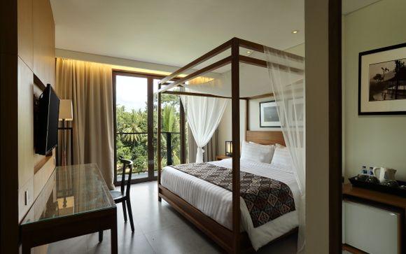 Poussez les portes de l'hôtel Plataran Ubud 4*