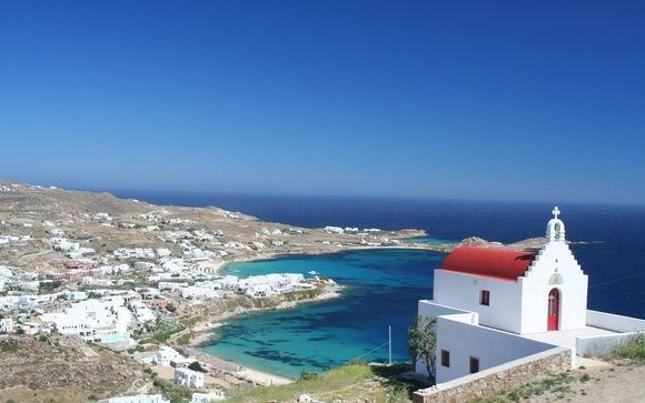 Zoom sur votre programme du circuit Santorin/Mykonos en 10 nuits