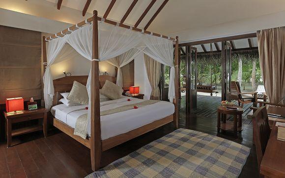 Votre extension à l'Hôtel Medhufushi Island Resort 4*