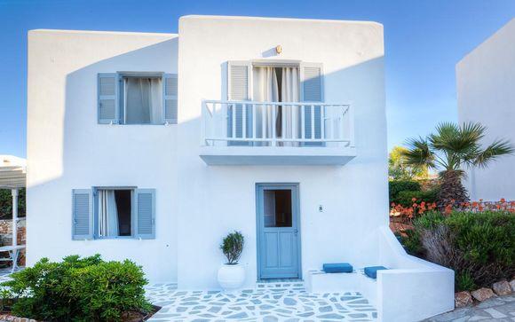 Poussez les portes du Minois Village Hotel Suite & Spa 4*