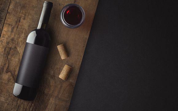 Accompagnez votre dîner avec une bouteille de vin...