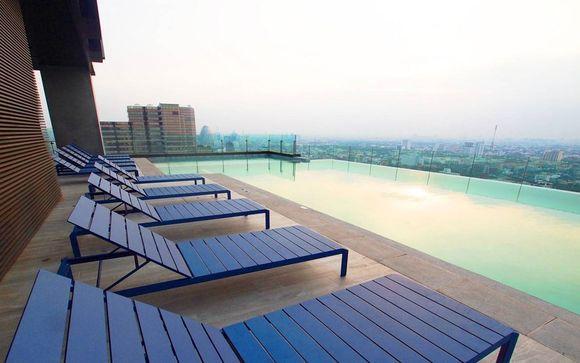 Poussez les portes de l'hôtel The Quarter Ari à Bangkok
