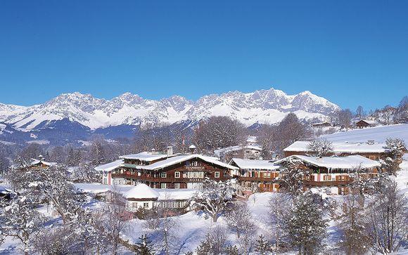Poussez les portes du Tennerhof Gourmet & Spa de Charme Hotel 5*