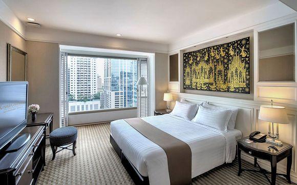 Poussez les portes de l'hôtel  Grande Centre Point Ratchadamri 5* à Bangkok