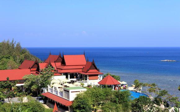 Votre extension à l'hôtel Aquamarine Resort & Villa 4* à Phuket