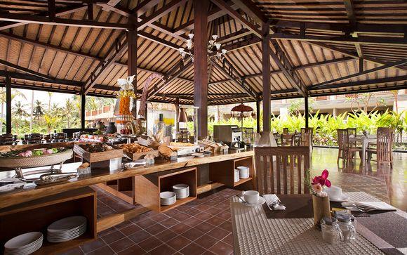 Poussez les portes de l'hôtel Best Western Premier Agung Resort 4* à Ubud