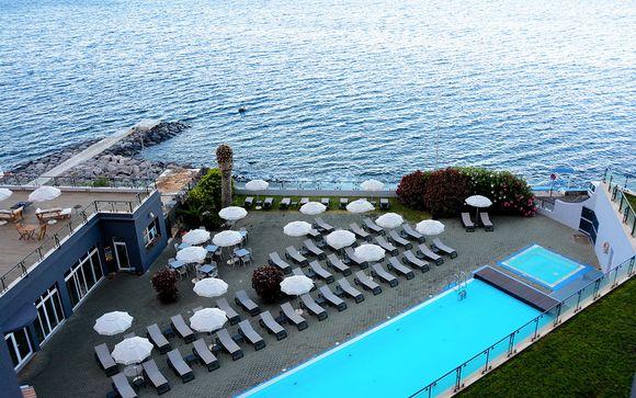 Poussez les portes de l'hôtel Paul Do Mar Sea View 4*