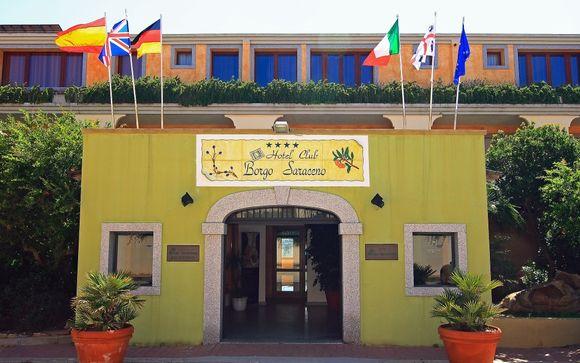 Poussez les portes de l'Hôtel Borgo Saraceno 4*