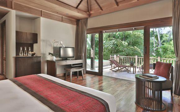 Poussez les portes de l'hôtel Anantara Rasananda 5* à Koh Phangan