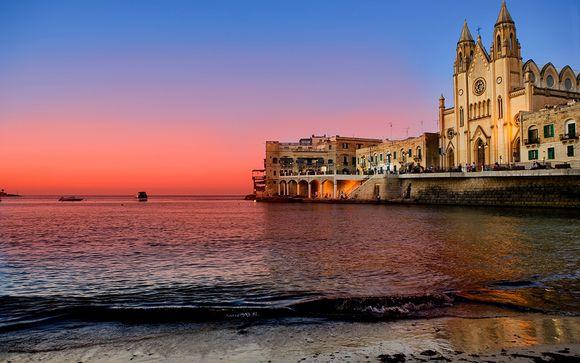 Malte St Julians - Hôtel Corinthia Marina Beach Resort 4*