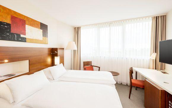 Poussez les portes de l'hôtel NH Frankfurt Niederrad 4*