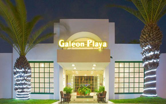 Poussez les portes de l'Hôtel Apartamentos Galeón Playa