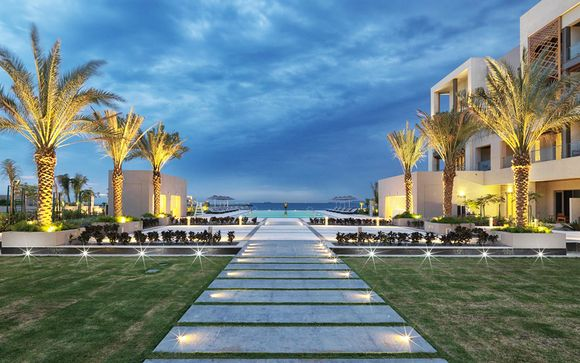 Luxueux écrin sur les eaux du Golfe d'Oman