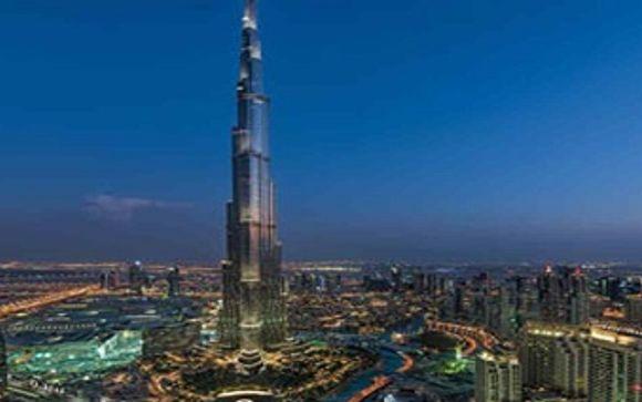 Mettez une option sur l'évasion à Dubaï (offre 2)