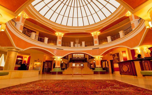 Poussez les portes de l'hôtel Parco dei Principi 5*