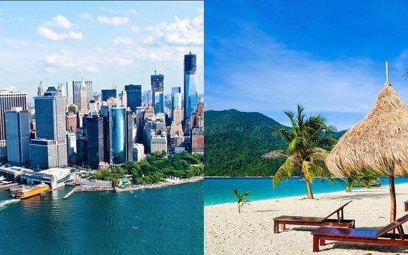 Combiné 4* Hilton Garden Inn New-York et Dreams Sans Cancun Resort & Spa