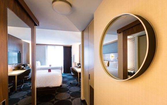 Poussez les portes de l'hôtel Crowne Plaza HY36 Midtown Manhattan