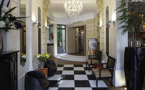 Poussez les portes de l'Hôtel 123 Elysées 4*