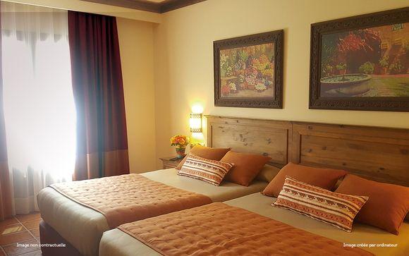 Poussez les portes de l'hôtel El Paso 4* à PortAventura World