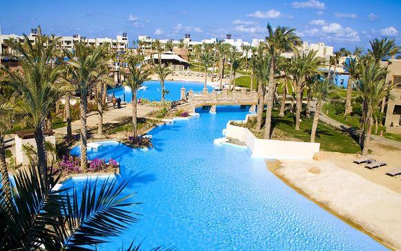 Hôtel Siva Port Ghalib Resort 5* ou Combinés croisières sur le Nil