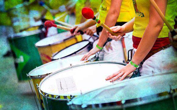 Circuit la Magie du Brésil pendant le Carnaval