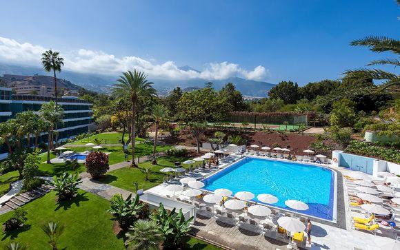 Poussez les portes de l'hôtel Taoro Garden 4* (ou similaire) à Tenerife Nord