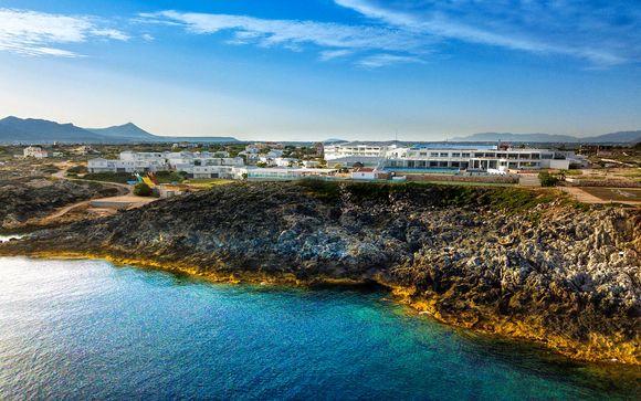 Infinité de bleus sur la plus grande île grecque