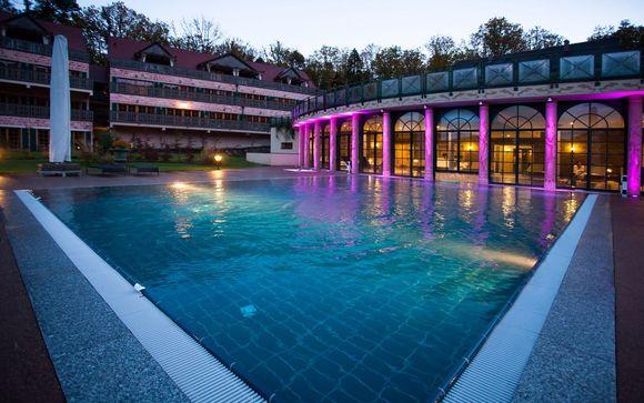 Poussez les portes de votre Hôtel & Spa Les Violettes 4*