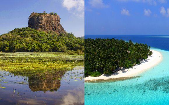 Circuit Sri Lanka et Fihalhohi Island Resort Maldives 4*