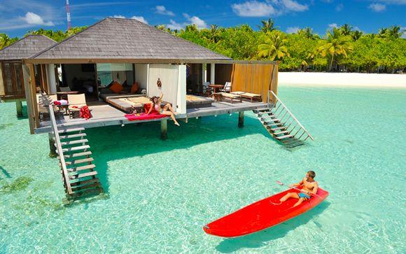 Hôtel avec terrasse privée donnant directement sur l'océan