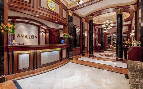 Poussez les portes de l'hôtel Avalon 4* à New-York