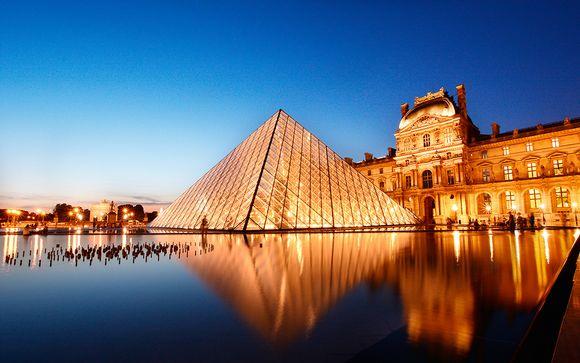 Hôtel Étoile Saint Honoré 4* et billets musée du Louvre
