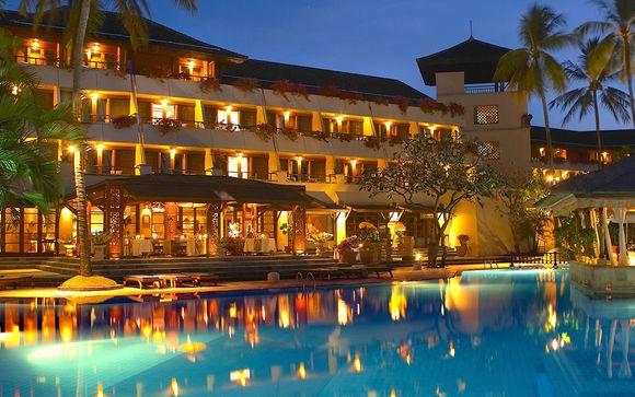 Poussez les portes de l'hôtel  Nusa Dua Beach Resort 5*