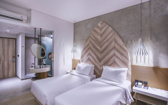Poussez les portes de l'hôtel  Marc Hotel Gili Trawangan