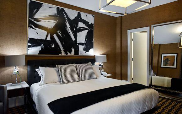 Poussez les portes de l'hôtel Hôtel Ameritania à New-York