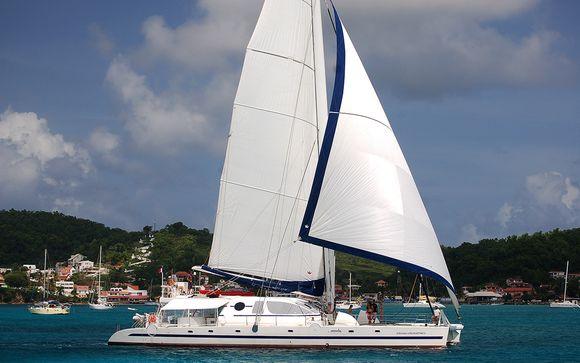 Le catamaran Poncin 82