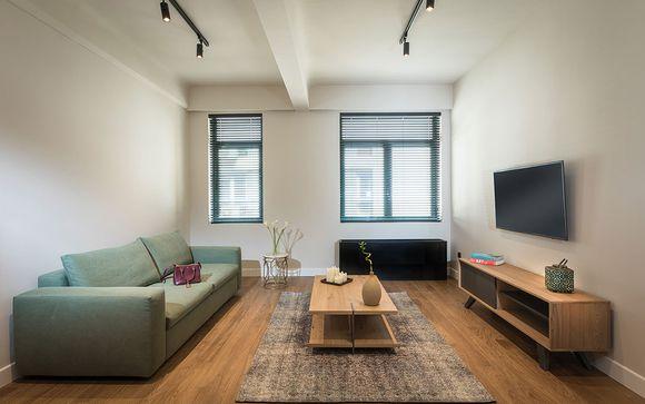 Poussez les portes de l'hôtel Klepsydra Urban Suites à Athènes