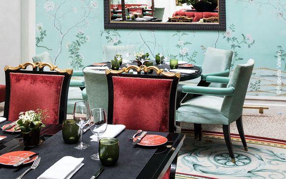 Découvrez les lieux du restaurant La Bauhinia...