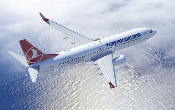 Offrez-vous le luxe de la classe affaires avec Turkish Airlines
