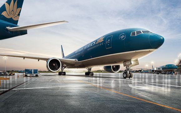Envolez-vous avec la compagnie Vietnam Airlines