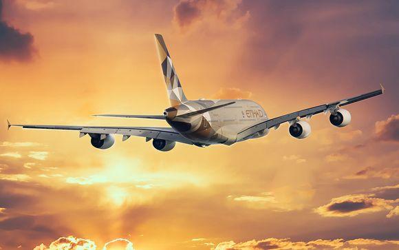 Envolez-vous avec la compagnie Etihad Airways